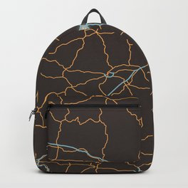 Arkansas Highways Backpack