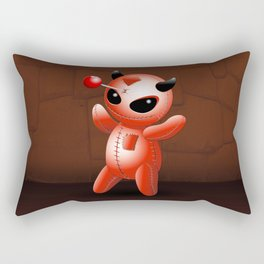 Voodoo Doll Evil Devil Cartoon Rectangular Pillow