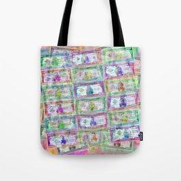 540 Million Dollars Pastel Tote Bag
