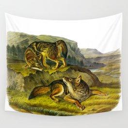 Prairie Wolf Wall Tapestry