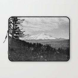 Mount Shasta, and neighboring mountain Shastina, Siskiyou County, ca.1900-1940 Laptop Sleeve