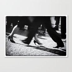 Tango Feet 2 Canvas Print