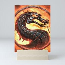 MK Game Logo Mini Art Print