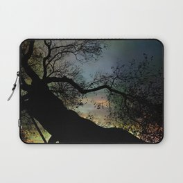 Night Fall by The Tree Laptop Sleeve