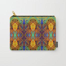 Royal Fiesta Flame by Chris Sparks Carry-All Pouch