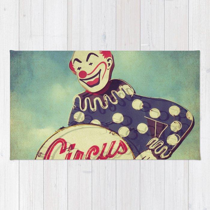 Circus Liquor, N. Hollywood, CA. Rug