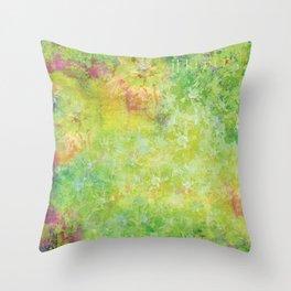 Garden Greens Throw Pillow