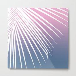 Pastel Palm 01 Metal Print