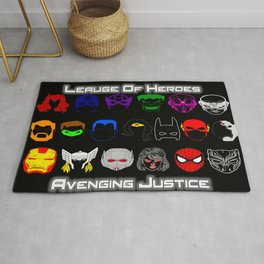 Avenging Justicee Rug