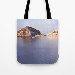 swimming to s'ant angelo Tote Bag