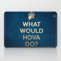jay z iPad Cases featuring What Would Hova Do? - Jay-Z by Luke Eckstein