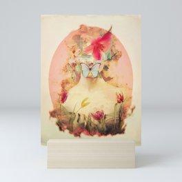 Lady Silence Mini Art Print