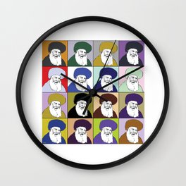 JUDAICA POP ART Wall Clock