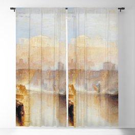 """J.M.W. Turner """"Ancient Rome; Agrippina Landing with the Ashes of Germanicus"""" Blackout Curtain"""