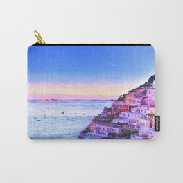 Twilight Over Positano, Italy Carry-All Pouch