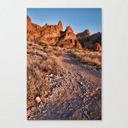 Siphon Draw Trail Canvas Print