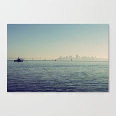 Sitting on the Dock of the Bay Canvas Print