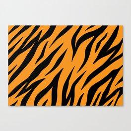 Tiger background #society6 #decor #buyart #artprint Canvas Print