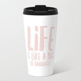 Life is Chocolate Travel Mug