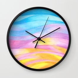 Lightness I- Colored pencils Wall Clock