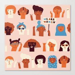 Women day Canvas Print
