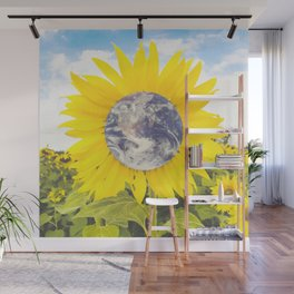 The Earth Flower-Sunflowers Wall Mural