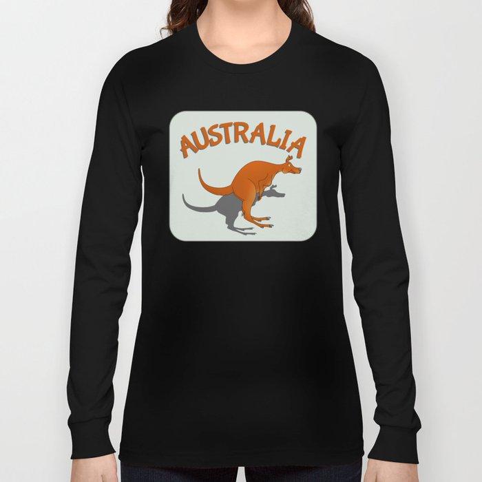 Kangaroo Australia Long Sleeve T-shirt