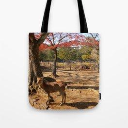 Nara Deer Park Tote Bag