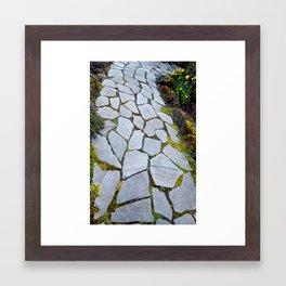 Path to.... Framed Art Print