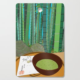 Bamboo Temple in Japan Cutting Board