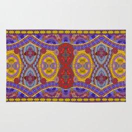 Mystical Magic Circus Abstract Print Rug