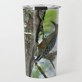 Red-bellied Woodpecker Close-up Travel Mug