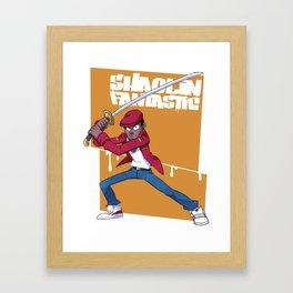 Shaolin fantastic Framed Art Print