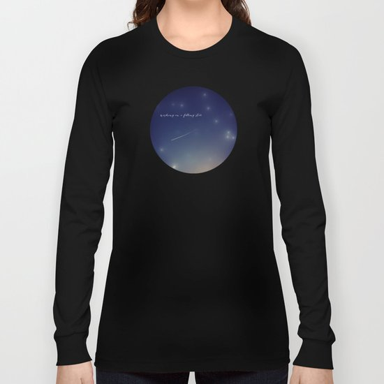 wishing on a falling star Long Sleeve T-shirt