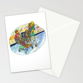 The Joy of Parenting - Shopping Stationery Cards