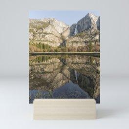 View of Yosemite Falls from Cook's Meadow Mini Art Print