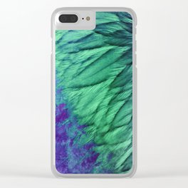Spring Chicken Clear iPhone Case