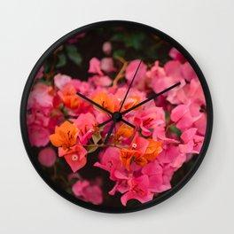 California Blooms XI Wall Clock