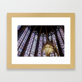 La Sainte-Chapelle. Framed Art Print