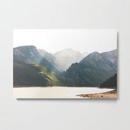 The Montana Collection - Lake Como Metal Print