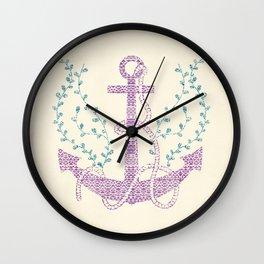 Tribal Nautica II Wall Clock