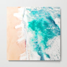 Va Bene Beach Metal Print