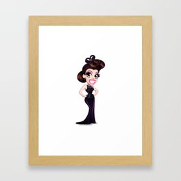 Cute Drag Queens - Bianca Del Rio Framed Art Print