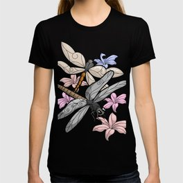 Dragonflies In The Park T-shirt