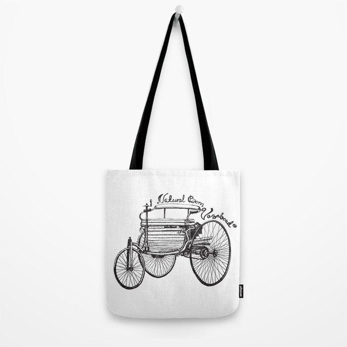 Vintage benz 1885 | Natural Born Vagabond™  Tote Bag