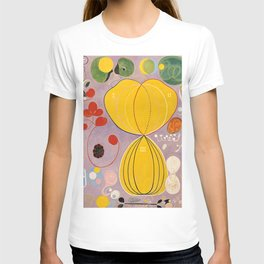 The Ten Largest, Group IV, No.7 by Hilma af Klint T-shirt