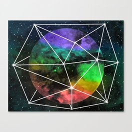 Space Anomaly Canvas Print
