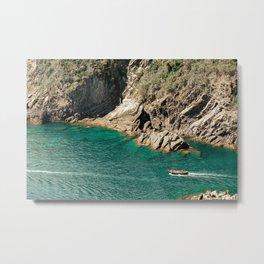 Italian Coast Metal Print