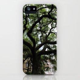 Savannah Georgia Square iPhone Case