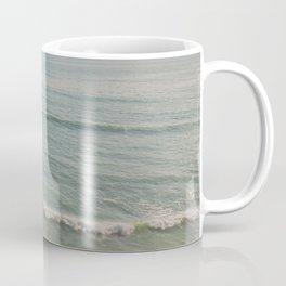 palm tree and ocean. California Vacation Coffee Mug